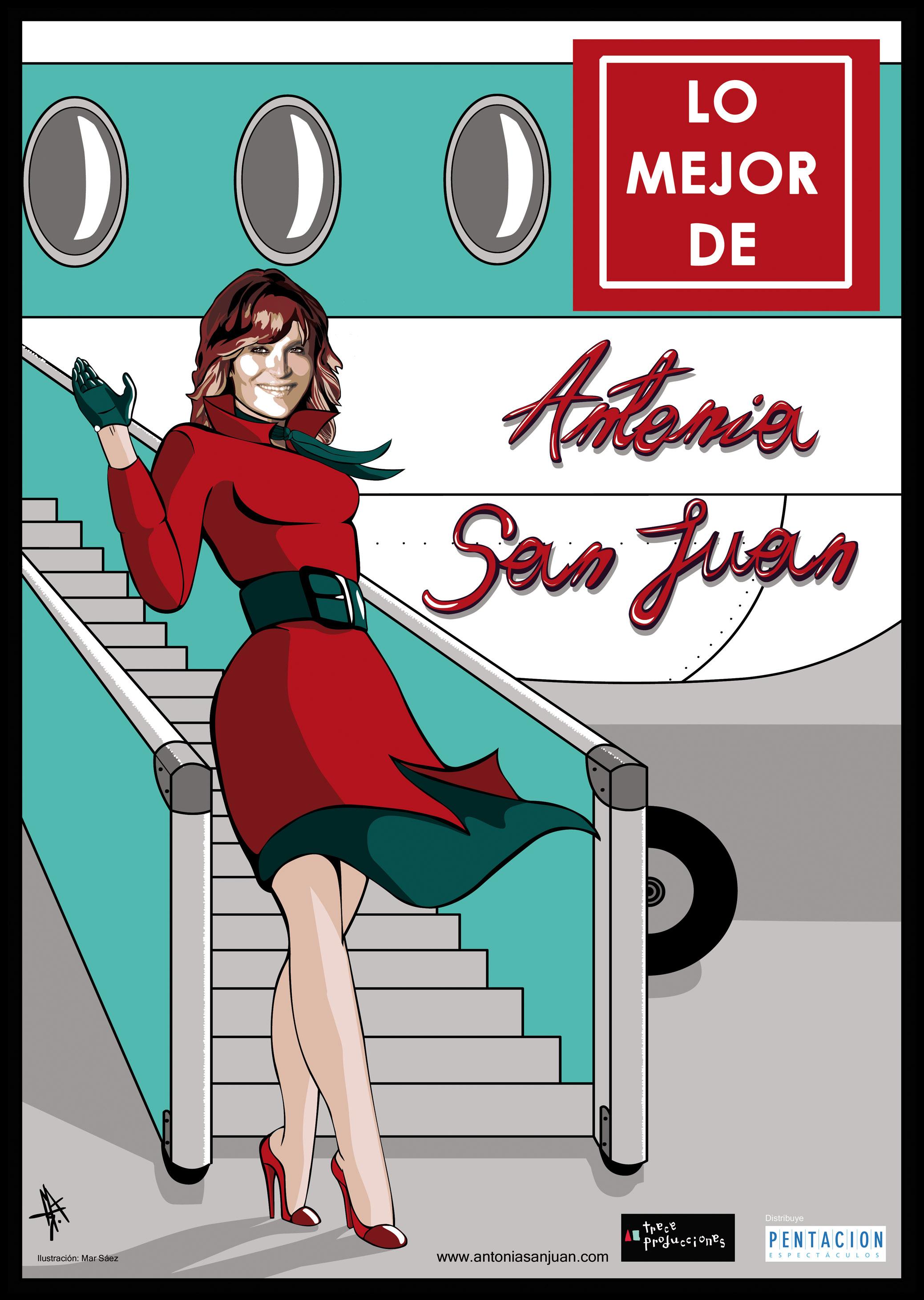 LO MEJOR DE ANTONIA SAN JUAN - ROJALES